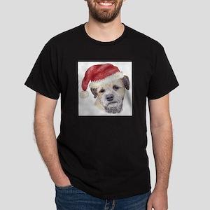 Christmas Border Terrier T-Shirt
