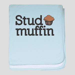 Stud Muffin baby blanket