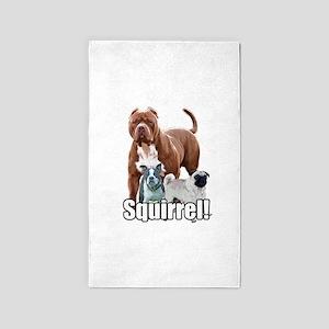 Squirrel Area Rug