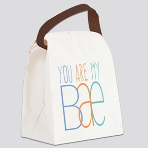 You Are My Bae Canvas Lunch Bag