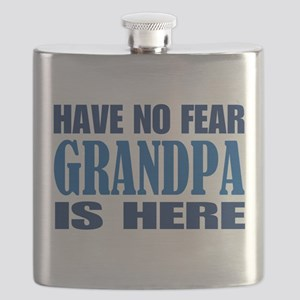 Have No Fear Grandpa Is Here II Flask