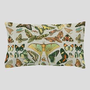 Butterfly pattern Vintage Papillon Pillow Case