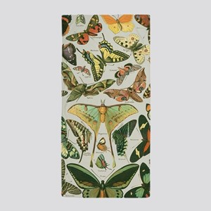Butterfly pattern Vintage Papillon Beach Towel
