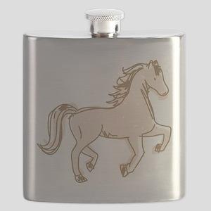 Pretty Ponies Flask