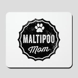 Maltipoo Mom Mousepad