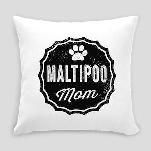 Maltipoo Mom Everyday Pillow
