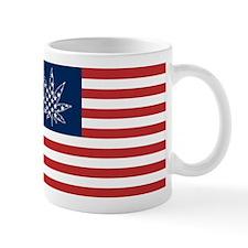 Sativa Leaf 420 Victory Flag Mug