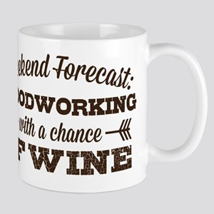 Woodworking and Wine Mugs