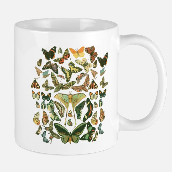 Butterfly pattern Mugs