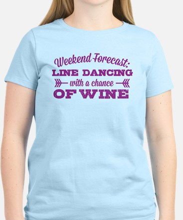 Line Dancing and Wine T-Shirt