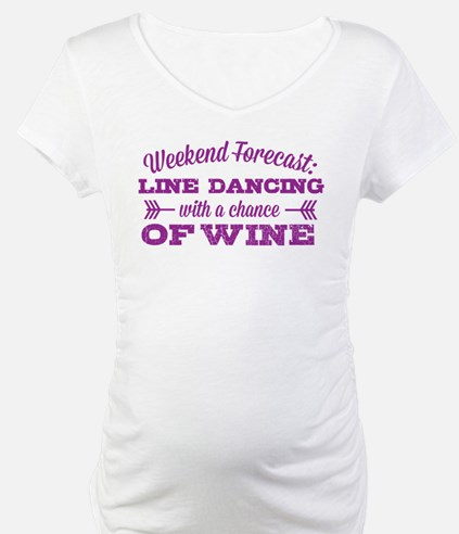 Line Dancing and Wine Shirt