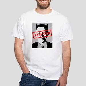 Barack Obama Evicted! (white Border) T-Shirt