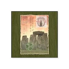 Stonehenge Postcard Collage Sticker