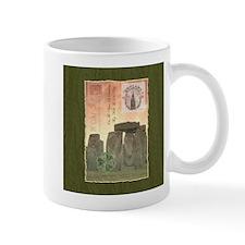 Stonehenge Postcard Collage Mugs