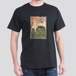 Stonehenge Postcard Collage T-Shirt