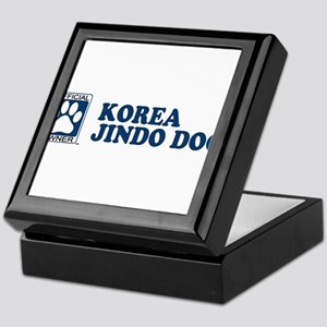 KOREA JINDO DOG Tile Box