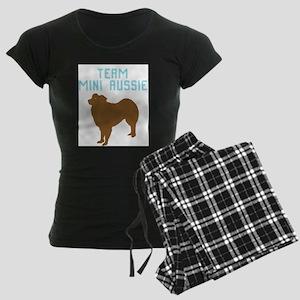 9-8-7-6-5-4-3-miniature aust shepherd Pajamas