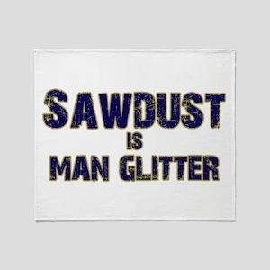 Sawdust Throw Blanket