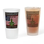 Free the leaf in all 50 States Drinking Glass