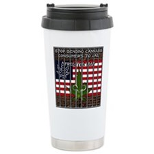 Free The Leaf In All 50 Stainless Steel Travel Mug