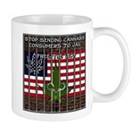 Free The Leaf In All 50 States Mugs