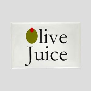 Olive Juice Rectangle Magnet