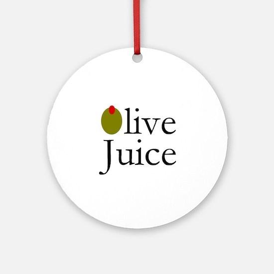 Olive Juice Ornament (Round)
