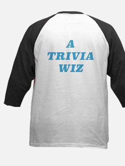 A TRIVIA WIZ Baseball Jersey