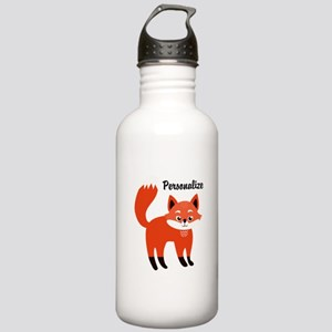 Fox Personalized Stainless Water Bottle 1.0L
