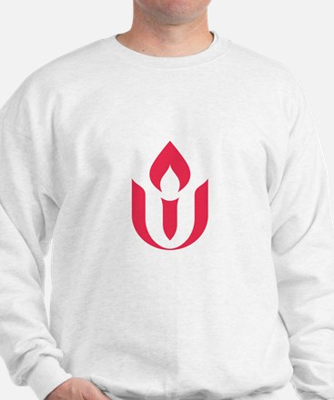 UU red flame logo Sweatshirt