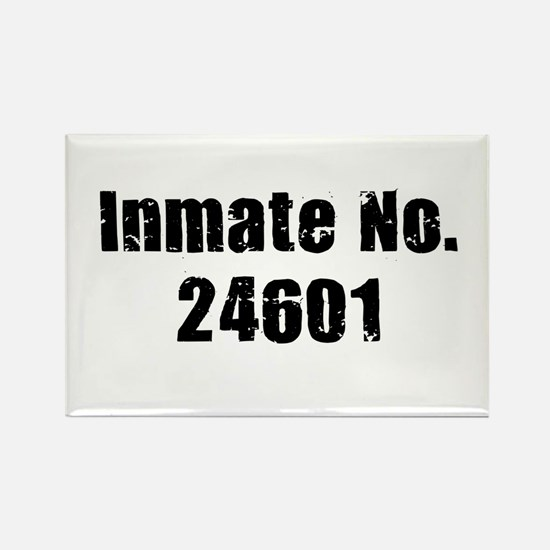 Inmate Number 24601 Rectangle Magnet