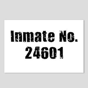 Inmate Number 24601 Postcards (Package of 8)