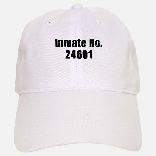 Inmate Number 24601 Baseball Baseball Cap
