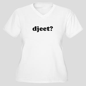 Djeet? Women's Plus Size V-Neck T-Shirt