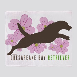 Chesapeake Bay Retriever Throw Blanket