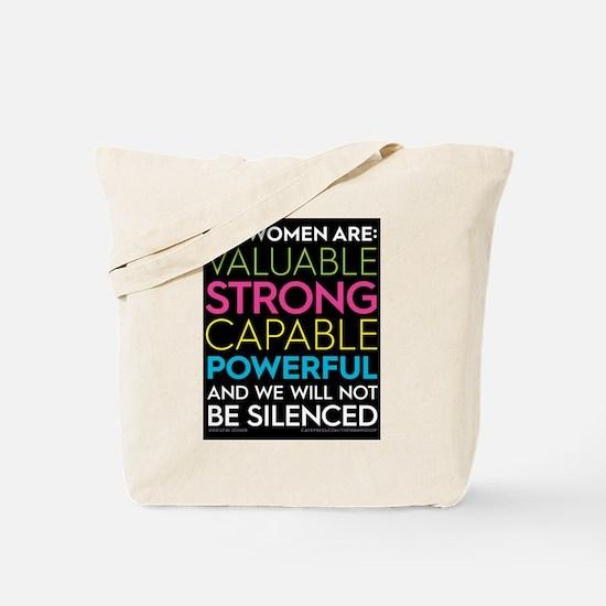 #allwomenare Tote Bag