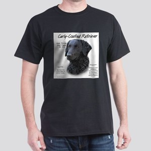 Curly-Coated Retriever Ash Grey T-Shirt