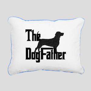 Dogfather Rectangular Canvas Pillow