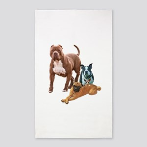 The Dog Posse And Cat Area Rug