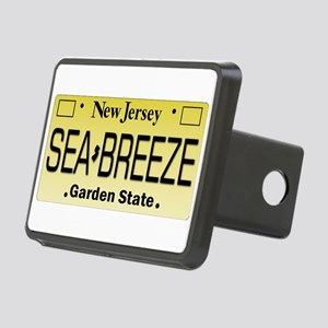 Sea Breeze NJ Tag Gifts Rectangular Hitch Cover