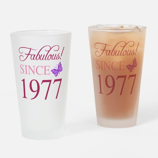 Cool 40 Drinking Glass