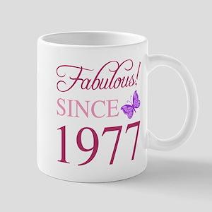 Fabulous Since 1977 Mugs