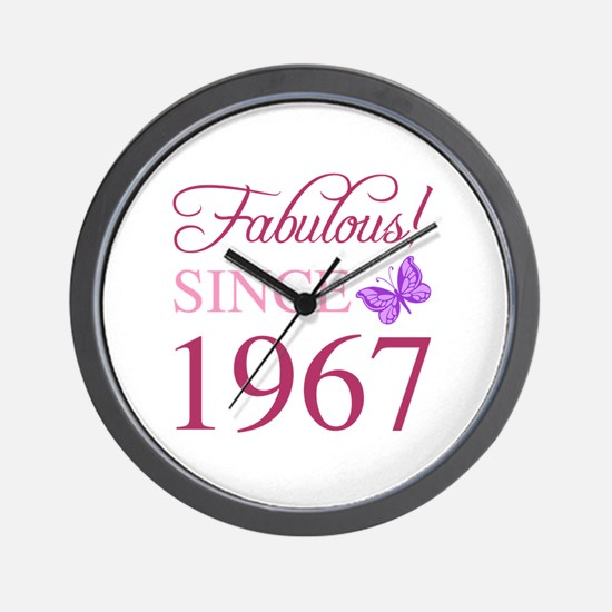 1967 pontiac gto Wall Clock