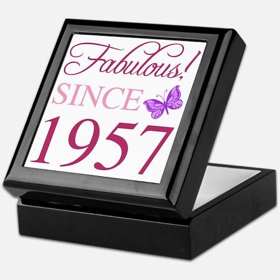 Unique 60th birthday for women Keepsake Box