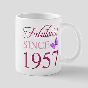 Fabulous Since 1957 Mugs