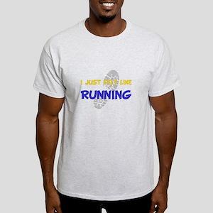 Dry Felt Like Running Yellow T-Shirt