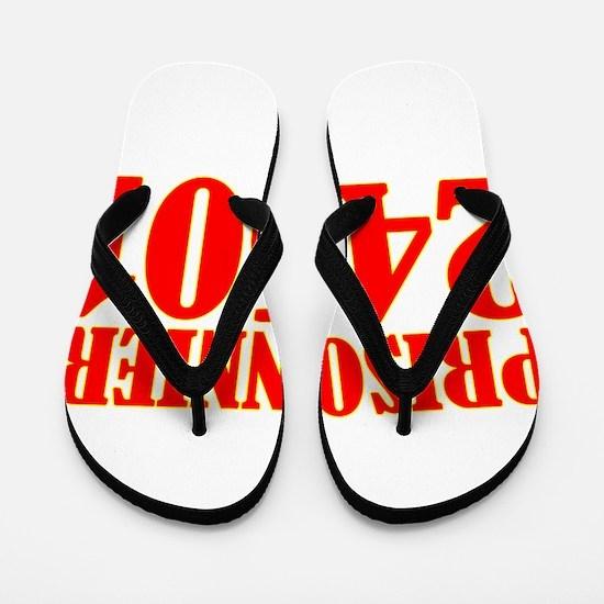 Prisonnier 24601 Flip Flops