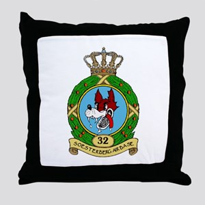 Soesterberg Air Base Throw Pillow