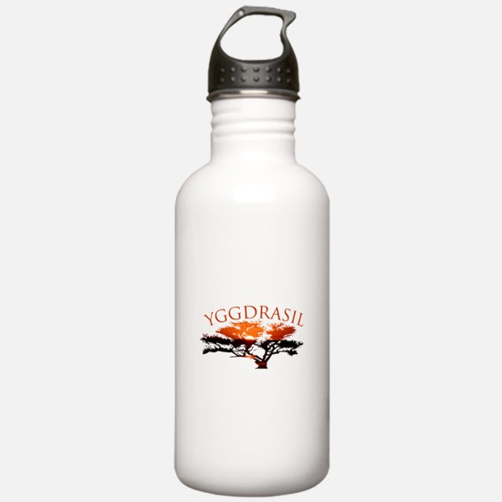 Yggdrasil- The World T Water Bottle