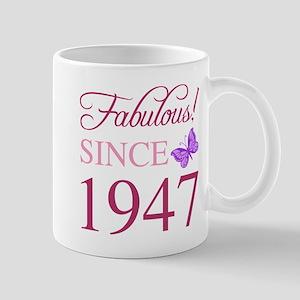 Fabulous Since 1947 Mugs